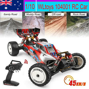 WLtoys 104001 RTR 1/10 2.4G 4WD Metal Chassis Remote Control Off-Road Car 45KM/H