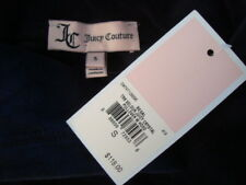 NWT$118 JUICY COUTURE Hooded Pullover Oversize Velvet Crystal Sleeve Jacket Sz S