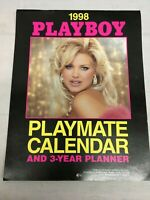 Vintage  Pin Up Calendar Play Boy 1998  12 Month Pictorial Nudes