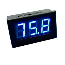 1pcs Blue LED Panel Meter Mini Digital Voltmeter DC 0V To 99.9V NEW S2
