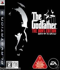 Used PS3 Godfather The Don's Edition PLAYSTATION 3 SONY JAPAN JAPANESE IMPORT
