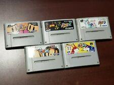 Super Famicom Super BomberMan 1 2 3 4 5 Japan SFC games US Seller