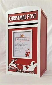 Santa's Christmas Card Post Box - Letterbox / Mail Box - Fully Assembled Postbox