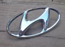 Hyundai H trunk emblem badge decal logo Elantra Sonata Accent OEM Factory Stock
