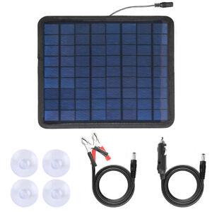 5W Watt Solar Panel Kit 12V Battery Charger for Maintainer Marine Boat RV Car