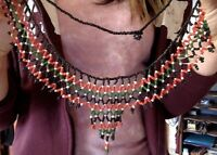 Beaded Two Strand Necklace from Africa