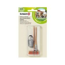 SCHLEICH 42128 STABLE CLEANING SET BRAND NEW