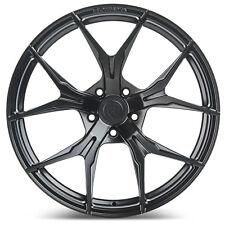 "19"" Rohana RFX5 Matte Black Concave Wheels for Mercedes"