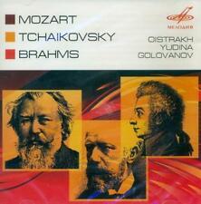 Mozart-Tchaikovsky-Brahms - Concerto, Variations & Cantata