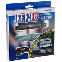 Tomix 92491 JR Freight JRF Electric Locomotive EF210 & KOKI Container Set - N