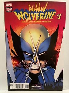 All New Wolverine #1 * 2016 Marvel * 1st Laura Kinney as Wolverine * NM? * (X10)