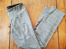 Teez-Her Sport Gray Athletic Yoga Pants - Women's Size L - Euc