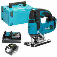 Makita DJV182Z 18V LXT Brushless Jigsaw With 1 x 3Ah Battery, Charger & Case