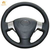 Leather Steering Wheel Cover for Toyota Matrix Auris 07-09 Corolla 06-10 #0411