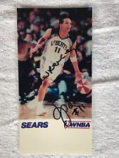 Teresa Weatherspoon, Wnba, Signed In Person 5x7 Sears Vintage Photograph