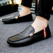 Artificial Leather Peas Loafers Shoes Men Casual Shoes Lazy Soft Driving Shoes