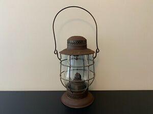 Antique Vintage DIETZ NEW YORK - A. NO.1 Kerosene Oil RR Lantern Lamp