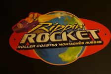 Knex Rippin Rocket Roller Coaster Replacement Pieces Coaster Sign