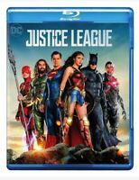 Justice League (Blu-ray / DVD & Digital Code) New Sealed