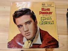 """RCA RD-27088 12"""" 33RPM 58' ELVIS PRESLEY """"KING CREOLE"""" SILVER DOT RCA LABEL VG"""