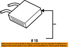 FORD OEM-Heater Core 1L2Z18476CA