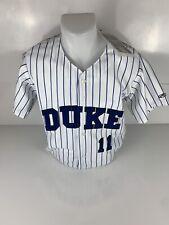 NCAA Rawlings Duke Blue Devils 100% Polyester Baseball Jersey Size Small