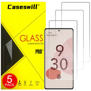For Google Pixel 6 Caseswill Premium HD-Clear 9H Tempered Glass Screen Protector