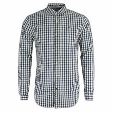Tommy Hilfiger Men's Check Long Sleeve Collared Casual Shirts & Tops