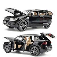 1:32 All New Tiguan L SUV Metallic Modellauto Spielzeug Model Sammlung Schwarz