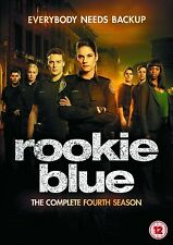 Rookie Blue Complete Series 4 DVD All Episodes Fourth Season Original UK NEW R2