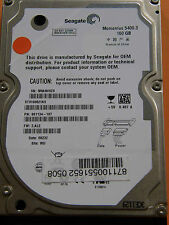160 GB Seagate ST9160821AS / 9S1134-197 / 3.ALE / WU / 100398689 REV C Hard Disk