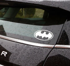 "Batman logo vinyl sticker 5"" wide also available in black cars bikes vans"