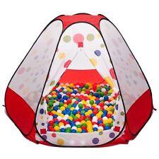Riesen Bällebad Spielzelt Pop up Zelt mit 750 bunten Bällen