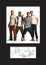 JLS #1 A5 Signed Mounted Photo Print - FREE DELIVERY