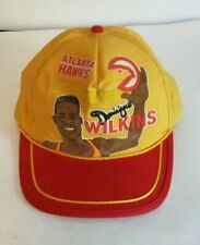 RARE DOMINIQUE WILKINS ATLANTA HAWKS VINTAGE 80s NBA BASKETBALL SNAPBACK HAT