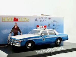 """1986 Chevrolet Caprice Police Car  """"Home Alone"""" / Greenlight Hollywood 1:43"""