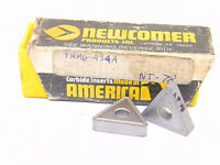 NEW SURPLUS 8PCS. NEWCOMER  TNMG 434A  GRADE: NT78  CARBIDE INSERTS