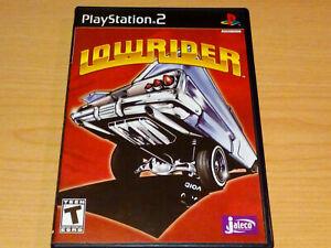 LOWRIDER PS2 PLAYSTATION 2 GAME COMPLETE REGION NTSC U/C.