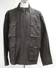 Men's flintoff Brown leather jacket (XL).. sample 2865
