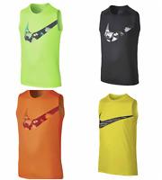New Nike Boys Dri-Fit  Tank Top Sleeveless Shirt Size 4, 5, 6, 7, Medium, and L