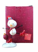 Russ Celebrate And Decorate Snowman Figurine