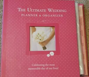 I Said Yes Notebook Wedding Planner Gold Foil Leather Cover Tassel Bookmark Pink