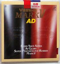 Yasaka Table Tennis Rubber: Mark V AD / MarkV AD, MaLin's Back Hand, New