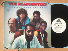 HEADHUNTERS- STRAIGHT FROM THE GATE  orig USA 1977 vinyl PROMO LP