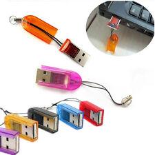 5Pcs USB 2.0 Micro SD SDHC TF Memory Card Reader DGKU Mini Adapter For Laptop PC