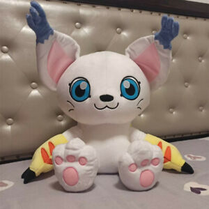 50cm Digimon Digital Monster Tailmon Plush Doll Stuffed Toy Pillow Xmas GF Gift