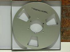 "1 x 10½"" Realistic Branded 1/4"" Wide Reel To Reel Tape Recorder Nab Take Up Reel"