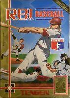 R.B.I. Baseball, Unlicensed Tengen (Nintendo NES, 1988)(Complete)