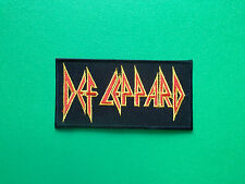 HEAVY METAL PUNK ROCK MUSIC SEW ON / IRON ON PATCH:- DEF LEPPARD (a)