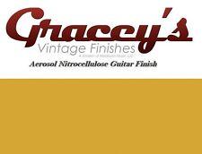-Butterscotch- Gracey's Vintage Finishes Nitrocellulose Guitar Lacquer Aerosol.